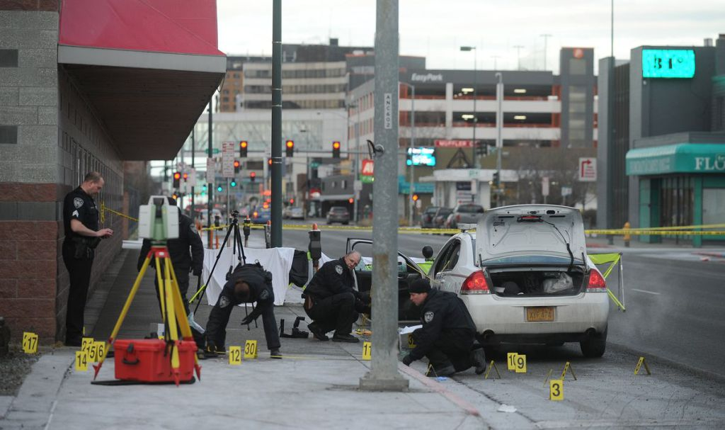 Police Officer Ambushed–shot multiple times, now recovering–in Anchorage, Alaska.