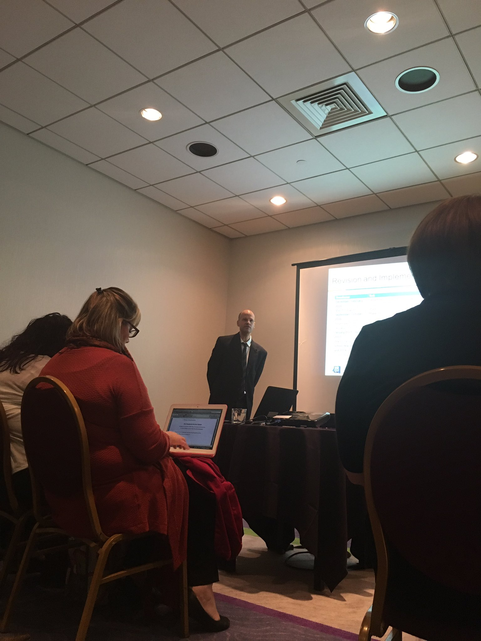 @NYSEDNews hearing about latest on standards revisions @nysreading - looking forward to more details thank you Eric Sweet and Patrick https://t.co/CbBCFvNWLe