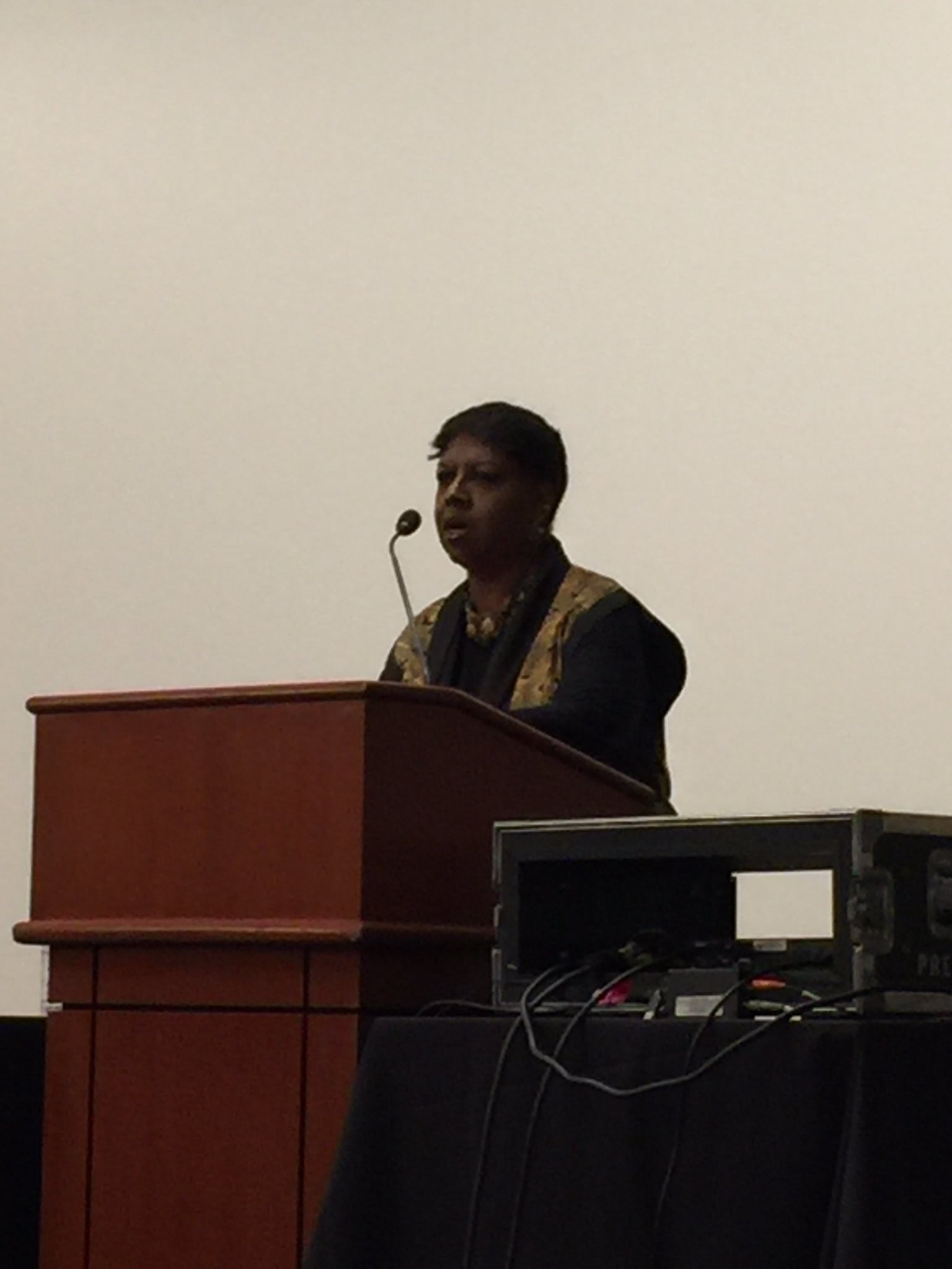 @nikkigrimes9 inspires the audience while reading her amazing poetry @nysreading  conference. https://t.co/CsvfvRHZeM