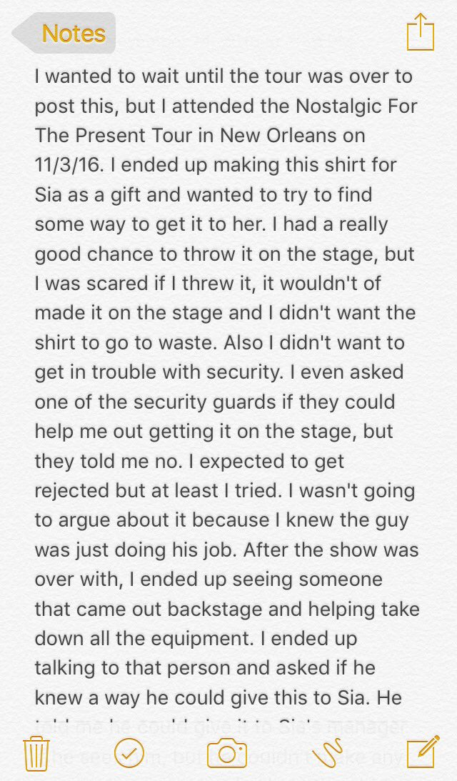 PLEASE read & PLEASE RT Any help would be appreciated. I want to give this to @Sia @17days @SiaFurlerSource https://t.co/Yv69mbl5d4