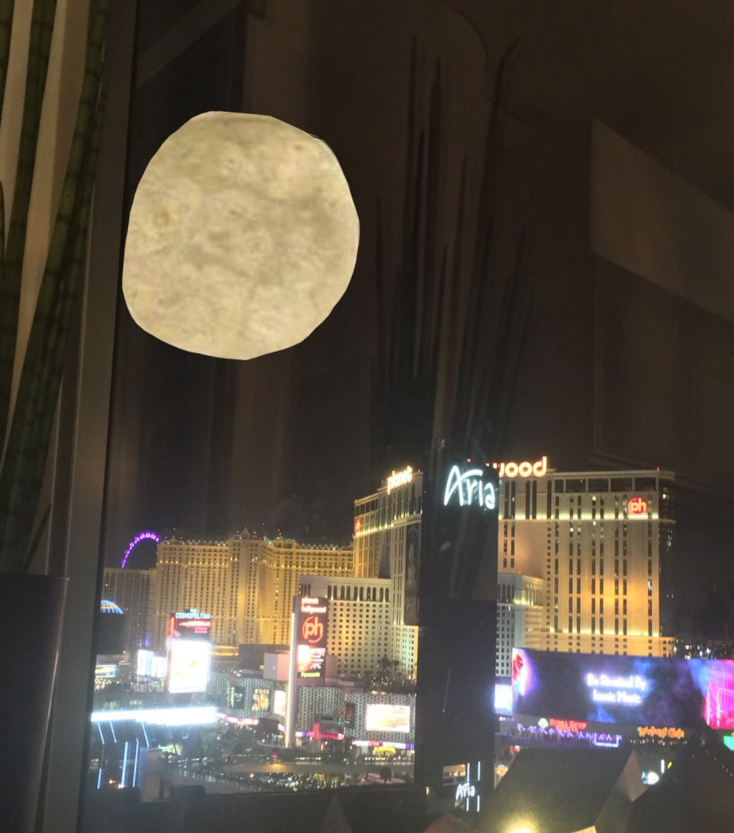 #Protip: if you can't see the #supermoon, put a tortilla on the window