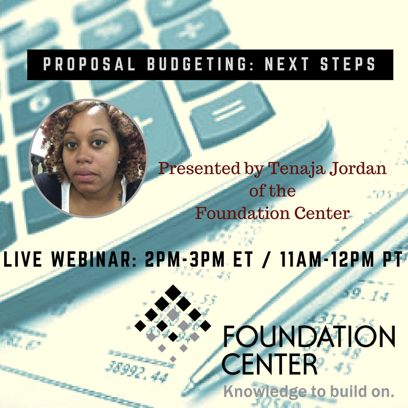 TOMORROW! Get resources for proposal budgeting   https://t.co/EoNIhS7IlA #FCLearn #nonprofitbudget https://t.co/K4ZMi8ujOf