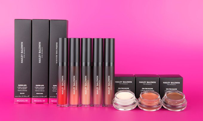 Hailey Baldwins new ModelCo cosmetic line sell out! cosmetics makeup