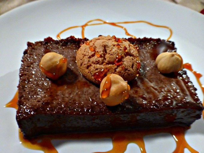 Delicious Italian Dessert - Amarett & Cocoai Pudding