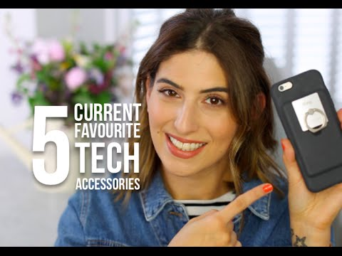 5 Current Favourite Tech Accessories | Lily Pebbles LilyPebbles LoveYa MakeUp Beauty -