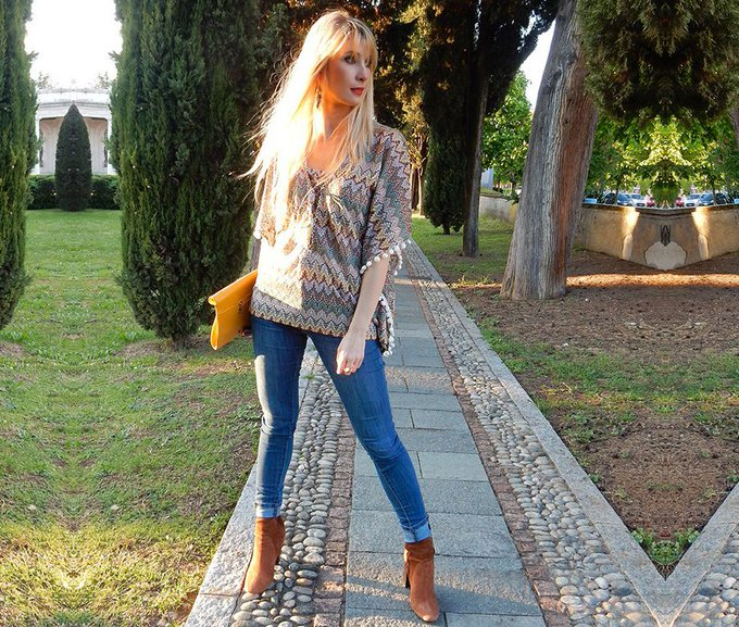 How do you mix patterns and textures? ontrend style ootd