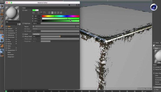 Create a Worn Edges Mask using Inverse AO in Cinema 4D 3d cgi c4d Cinema4D tutorial