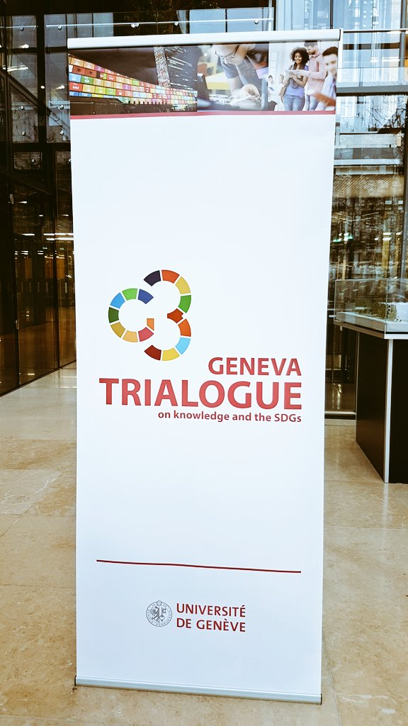The Geneva trialogue on knowledge and the #SDGs is about to start. Stay tuned, follow us as we will live tweet it. #SDGTrialogue https://t.co/NTv9WpF7Gv