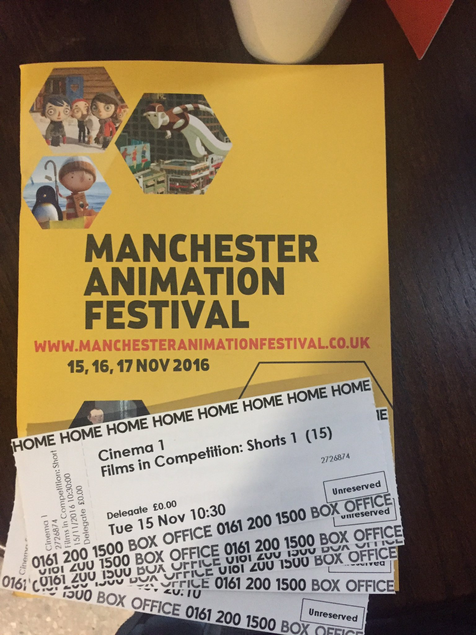 So ready for this @mcranimation  💛🐝✨ #MAF #Animation #Manchester https://t.co/A8KBjudvYp