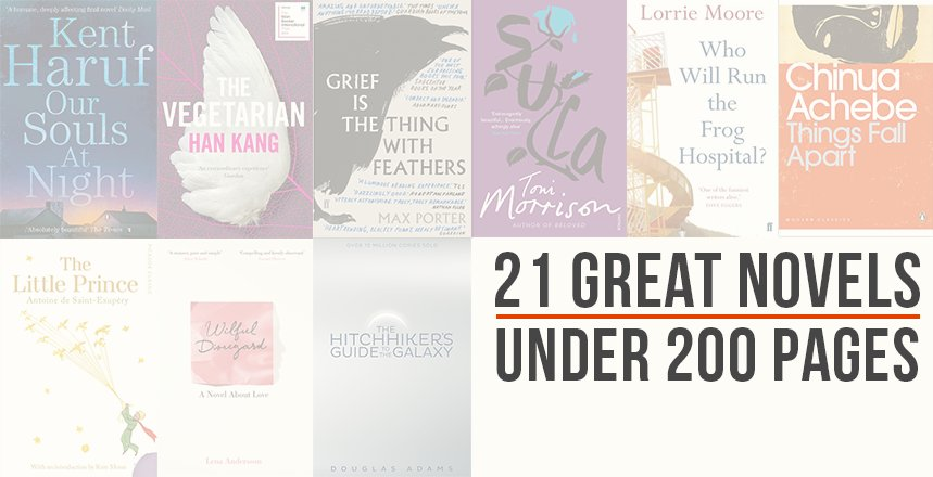 Pan Macmillan On Twitter Short And Spectacular 21 Great Novels