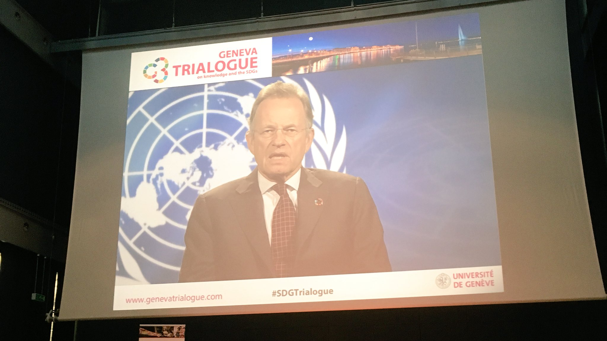 We need some serious coordination - #Partnerships must be more innovative than ever before @UNOG_DG #SDGTrialogue @GenevaImpact https://t.co/xRBPg3nfpS
