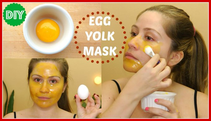 3 Egg Yolk Face Mask for Glowing Skin ,