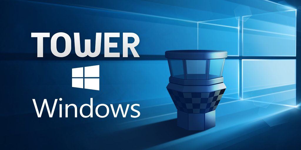 Today is the day: Tower is finally available for Windows! https://t.co/KU4JEvaUYa https://t.co/S7g619oLoY