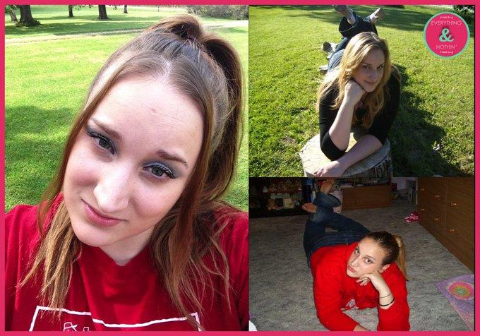How I did my makeup in highschool bbloggers femaleblogger//