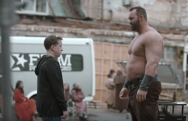Thor Bjornsson The Mountain e Septa Unella (Trono di Spade) in Shame or Glory, la nuova campagna SodaStream.