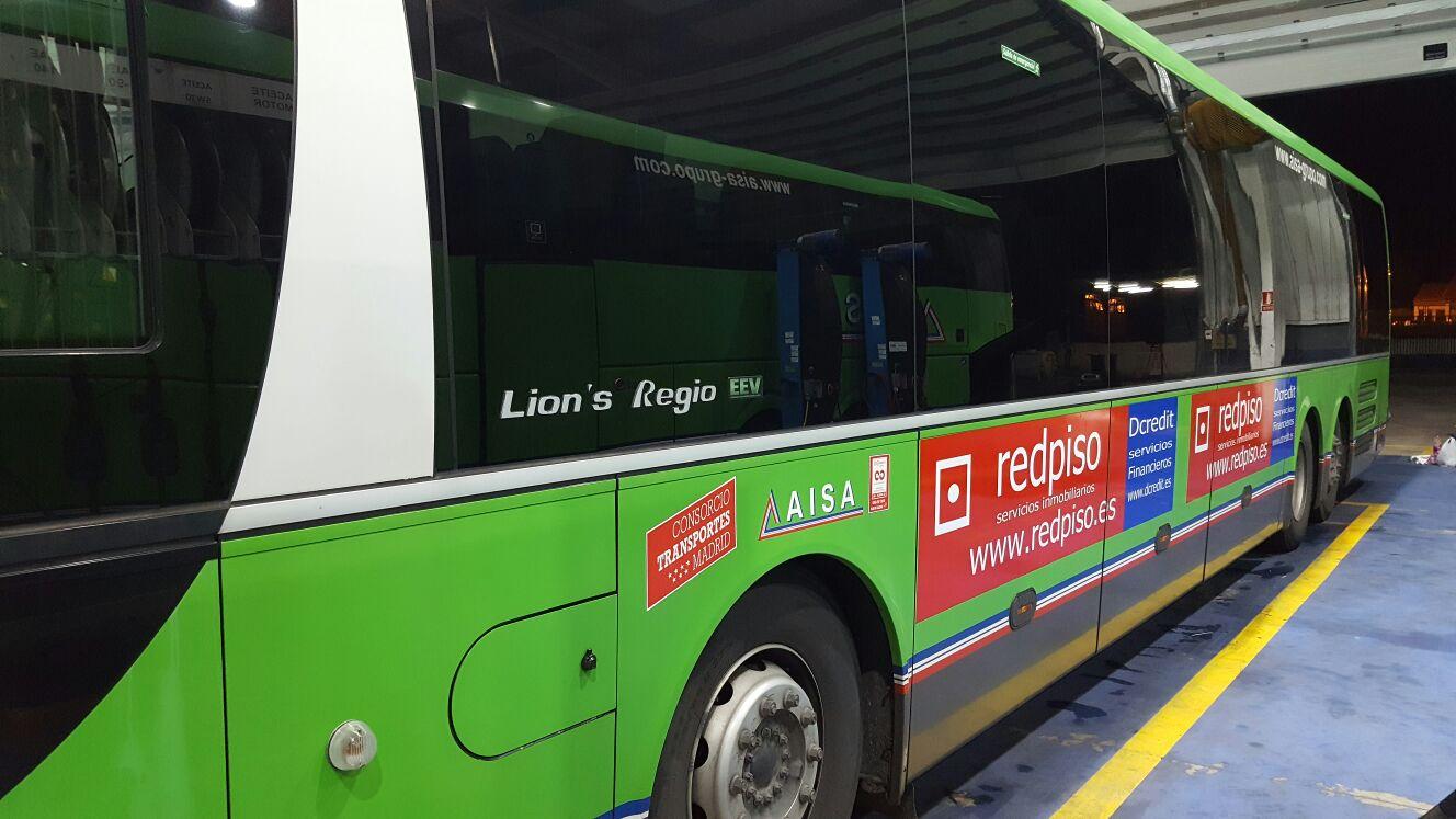 Redpiso on twitter mira los autobuses que ya circulan for Oficinas de redpiso