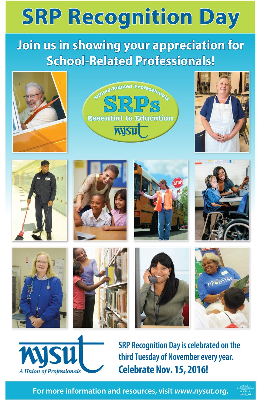 How are you celebrating School-Related Professionals today? Use the hashtag #SRPRecognitionDay and let us know! https://t.co/bjpgoeQg5n https://t.co/MTdHuZBK2Q