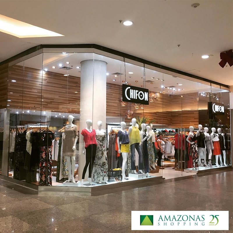 A #Chifon já chegou ao Amazonas Shopping. Venha conhecer a loja e escolher looks lindos. https://t.co/6j0GiMh0FD