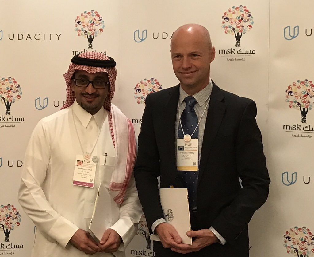 Excited to sign education plan for Saudi Arabia with @MiskKSA and @udacity. https://t.co/na1BFqDHEU