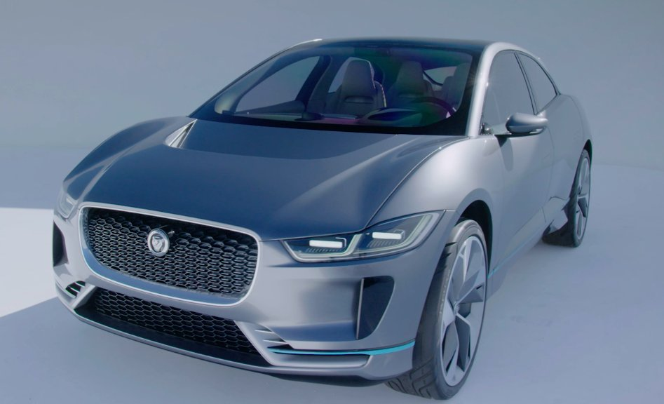Jaguar Land Rover Unveils Its First Electric Car Designed In Coventry Ipace Scoopnest