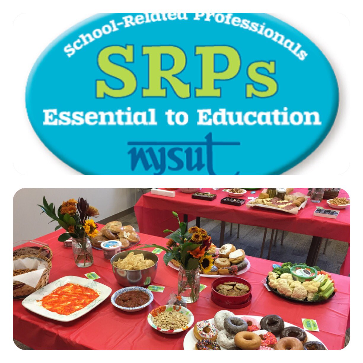 NTA honoring wonderful colleagues on School-Related Professionals Day! #naplescsd @nysut https://t.co/gfRScnEFkm