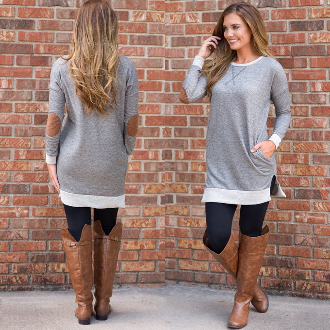 This tunic is so comfy, it feels just like home fashion shop outfit ootd style