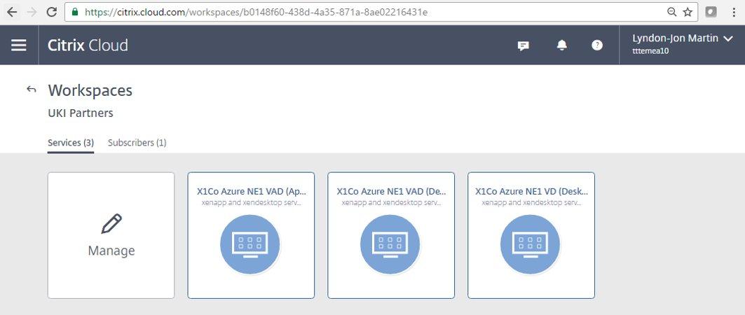XenApp and XenDesktop Service   A Xendc 1st Community Tech