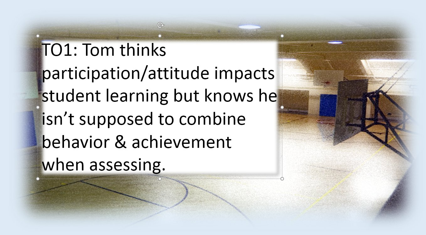 TO1: How can Tom soften the edges of this assessment conundrum? What does he need? #ATAssess https://t.co/PIIYtkSLlW