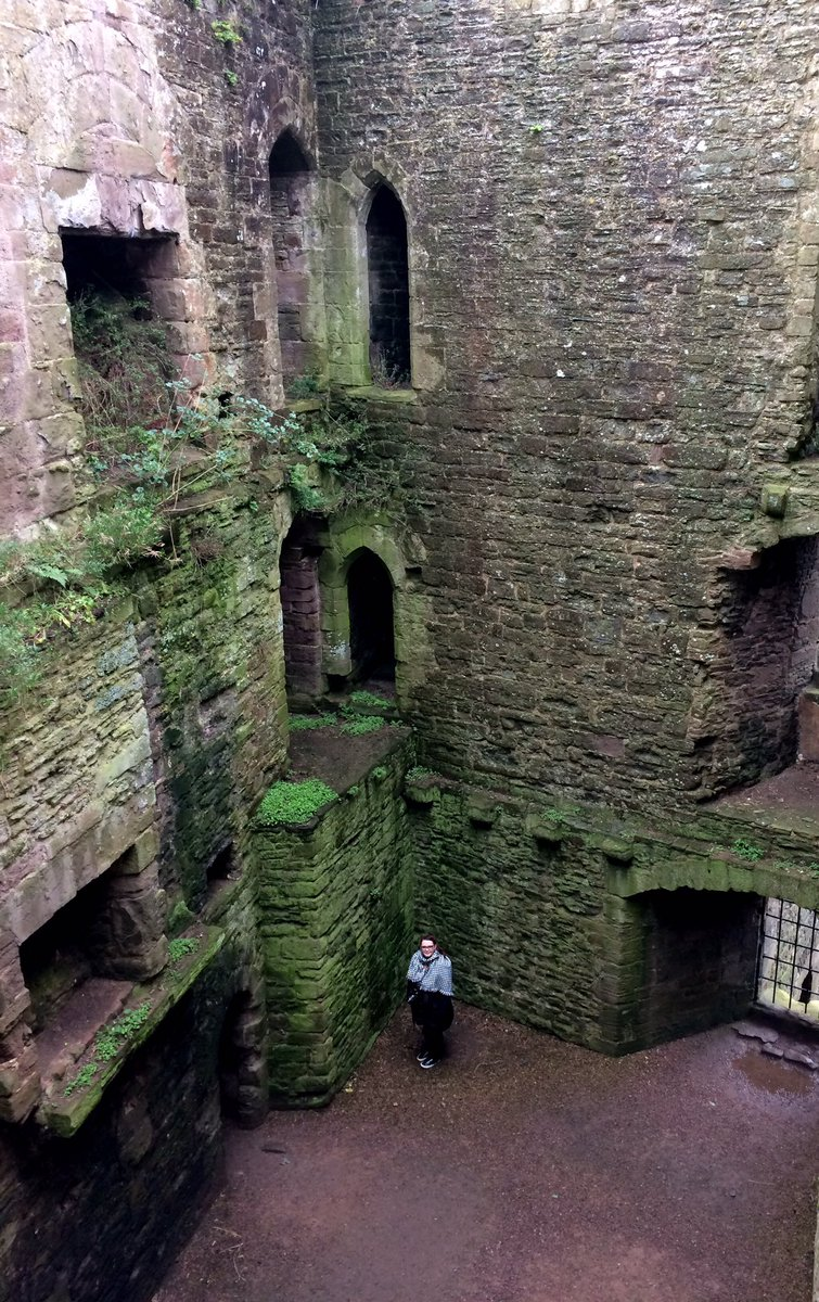Ludlow Castle and that weird lady obsessed with castles https://t.co/7wU448BDhc