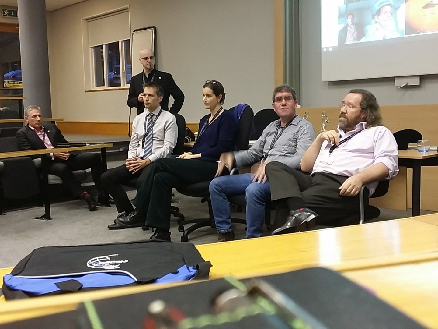 Panel discussion at #asec2016 @incoseuk  all things interconnected https://t.co/9Z9XOn3MIw