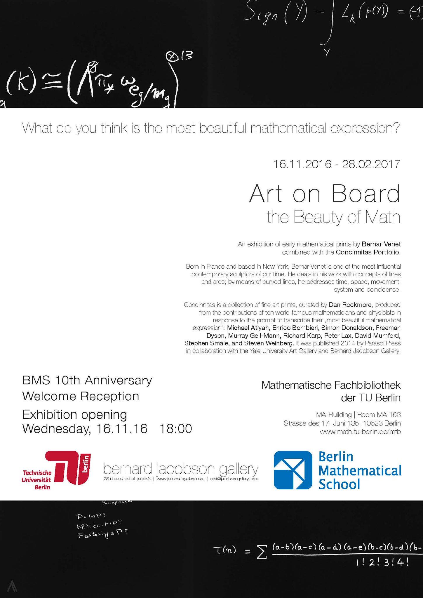 "bms on twitter: ""art on board -- the beauty of math. 16 november"