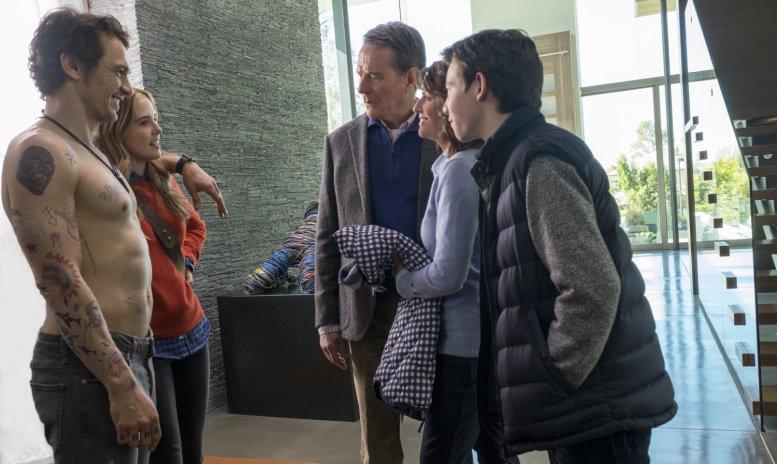 Why Him? photo with James Franco, Zoey Deutch, Bryan Cranston