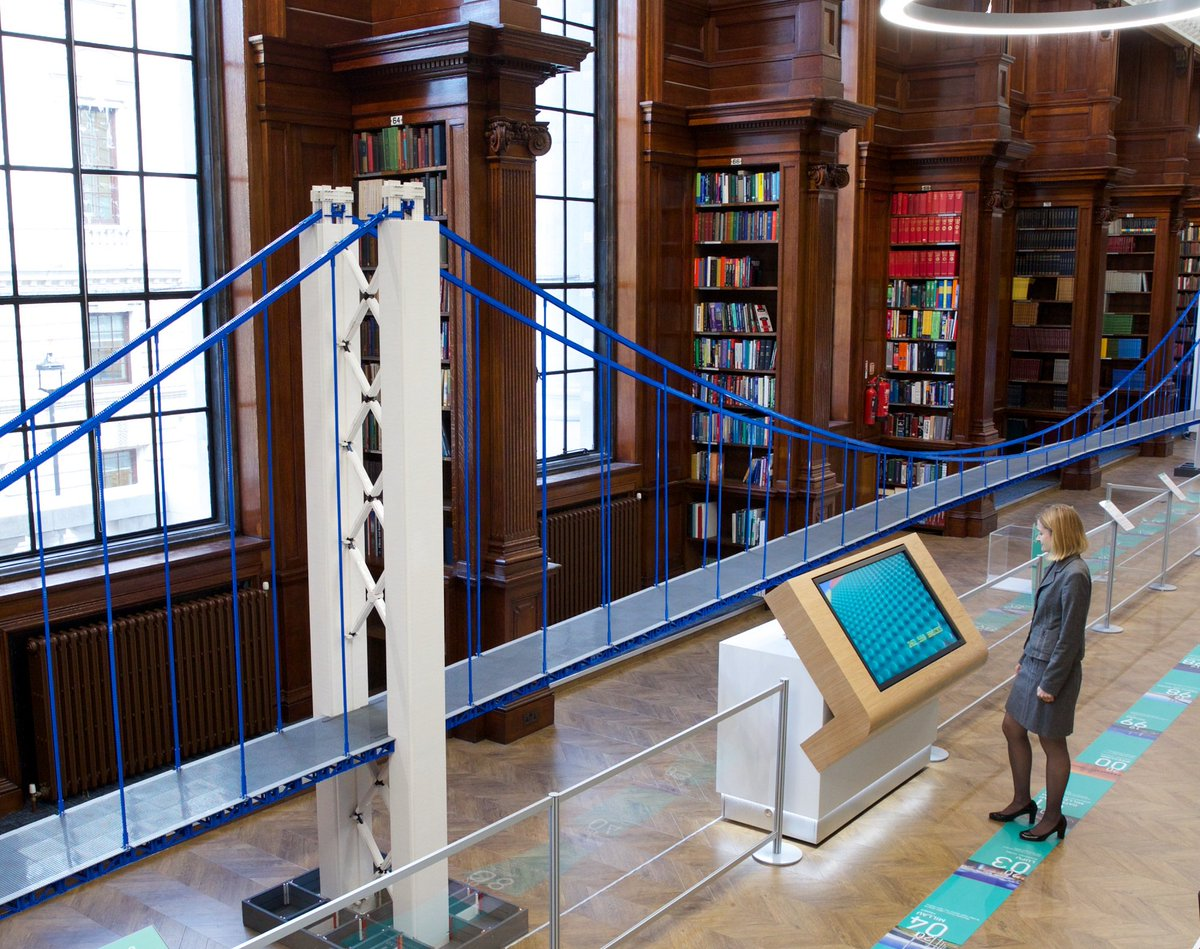 Stem Ambassadors On Twitter A World Record Breaking Suspension Bridge Made Out Of Lego Is At The Centre Of A Brand New Exhibition In London Https T Co Lp5k7fl3tr Https T Co Tvj6ef79he