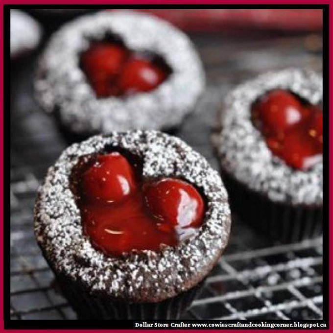 Cherry Cordial CupcakesLINK>>