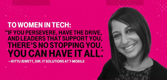 T Mobile Careers On Twitter Rittu Jewett Works With Her Team To Balance Work With Their Personal Lives Here S Why Https T Co E5lyws1cex Techtuesday Https T Co Wdzx8i012t