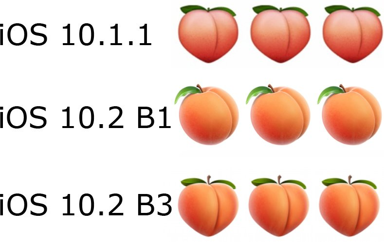 Apple Reintroduces Butt-Like Peach Emoji in iOS 10.2 Beta 3 Following User Complaints https://t.co/kHOlBtME8T by