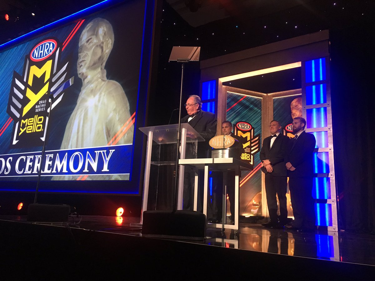 Congratulations to Connie Kalitta on winning the #NHRA Lifetime Achievement Award. #KalittaStrong https://t.co/JgWtzq9ypH