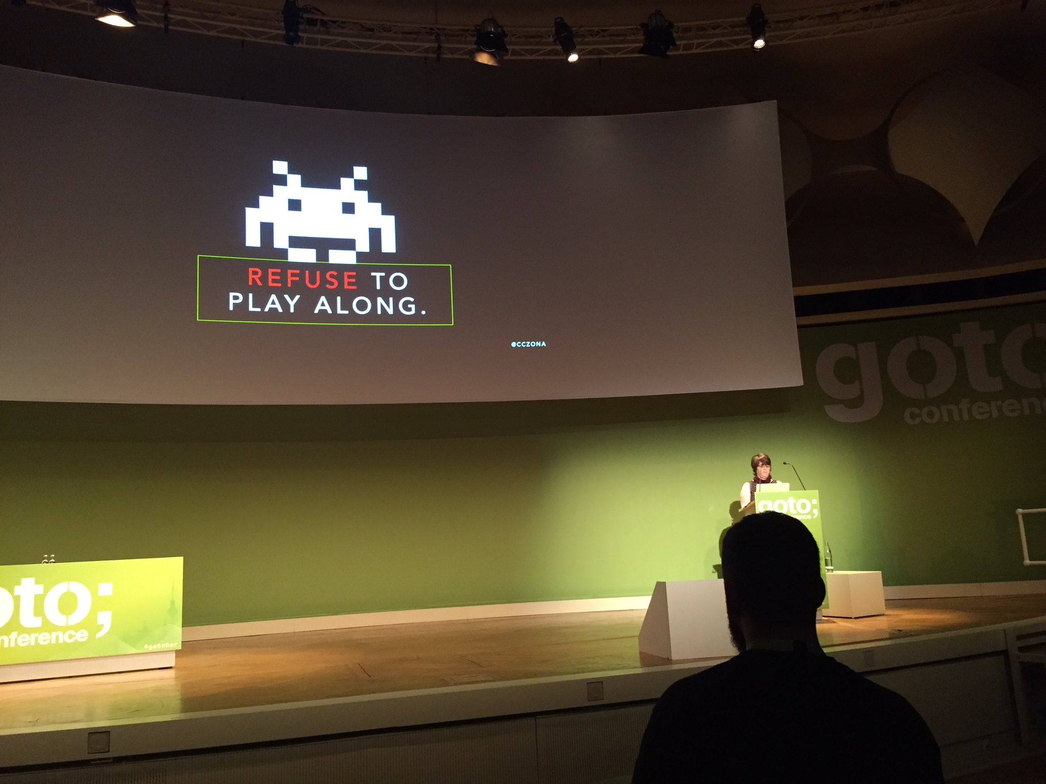 Great and worrying at the same time... great keynote by @cczona @GOTOber Consequences of an insightful algorithm https://t.co/LwRrdAZV2q