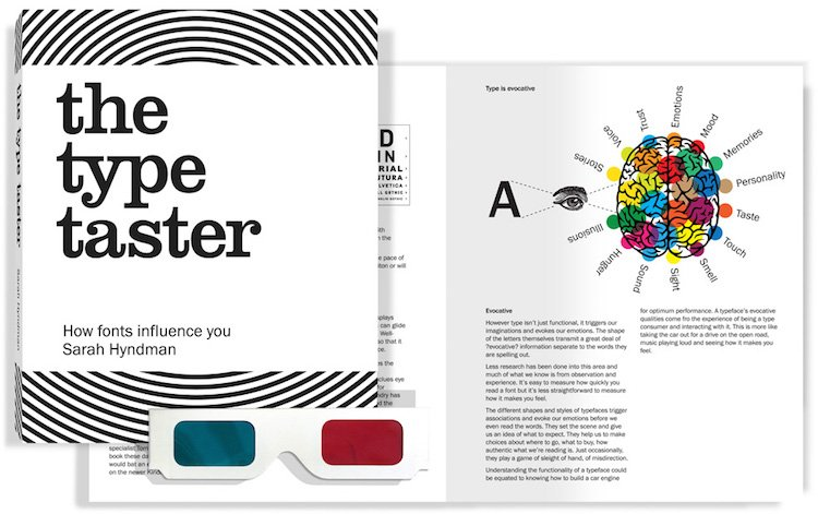 We're loving getting stuck into our copy of The Type Taster! @sarahhyndman @better_letters #typographytuesday