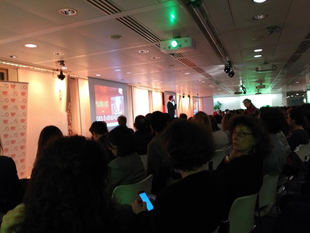Ce soir on invente de nouveaux métiers avec @up_conferences  : « Les emplois en 2050 » #upconf https://t.co/2N0WYSbnhY