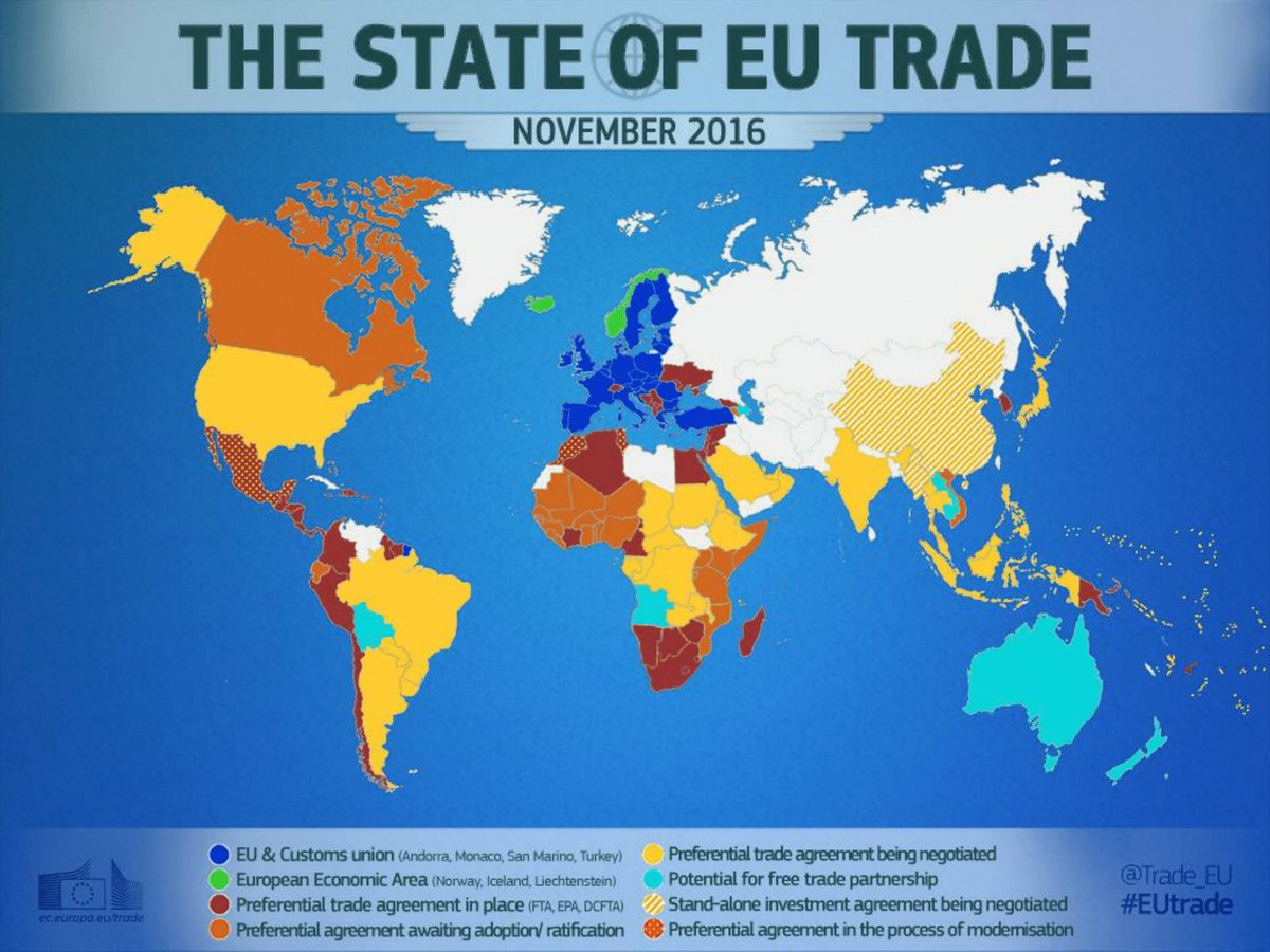 European commission on twitter trade agreements must respect european commission on twitter trade agreements must respect eu norms junckereu here state of eutrade with the worldby country publicscrutiny