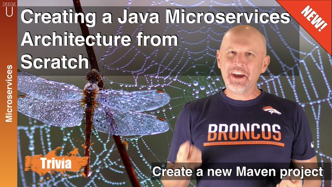 Second video in the creating java microservices series! tutorial