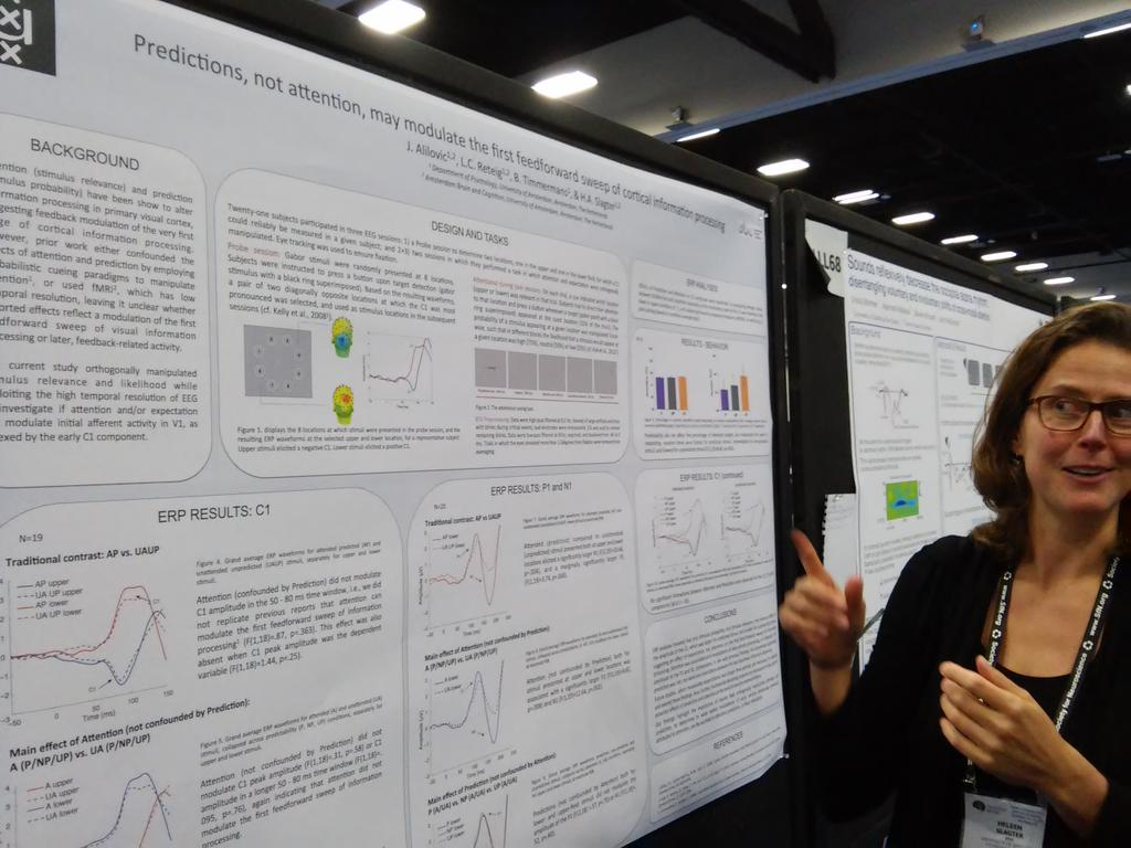 Poster LLL69: Heleen Slagter dissociates attention and prediction in the C1 ERP component #sfn16 #plos https://t.co/S4BG826zhC