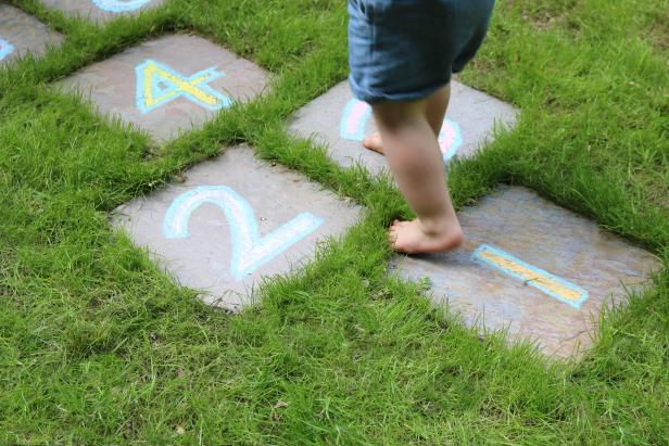 Bring some permanent fun to your backyard! DIY