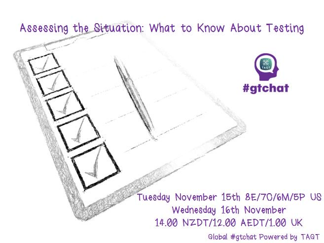 Thumbnail for #gtchat: Assessing the Situation:What to Know About Testing