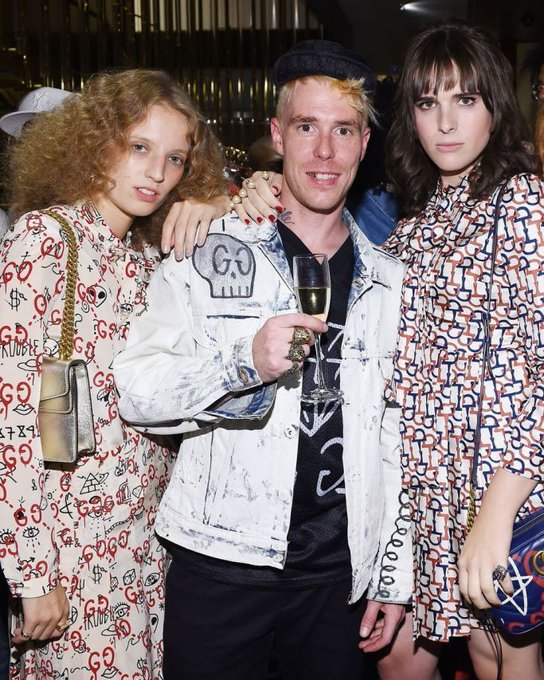 Gucci hosts GucciGhost global launch event during New York Fashion fashion , style , OOTD