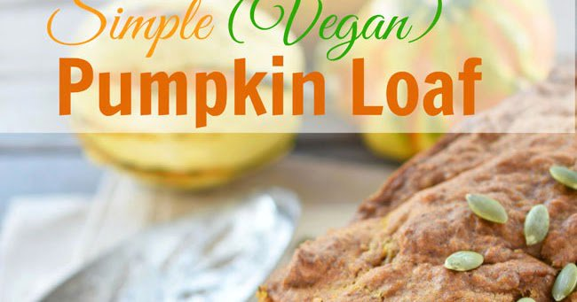 Check it out! New up on the blog today. A Simple Pumpkin Loaf!://