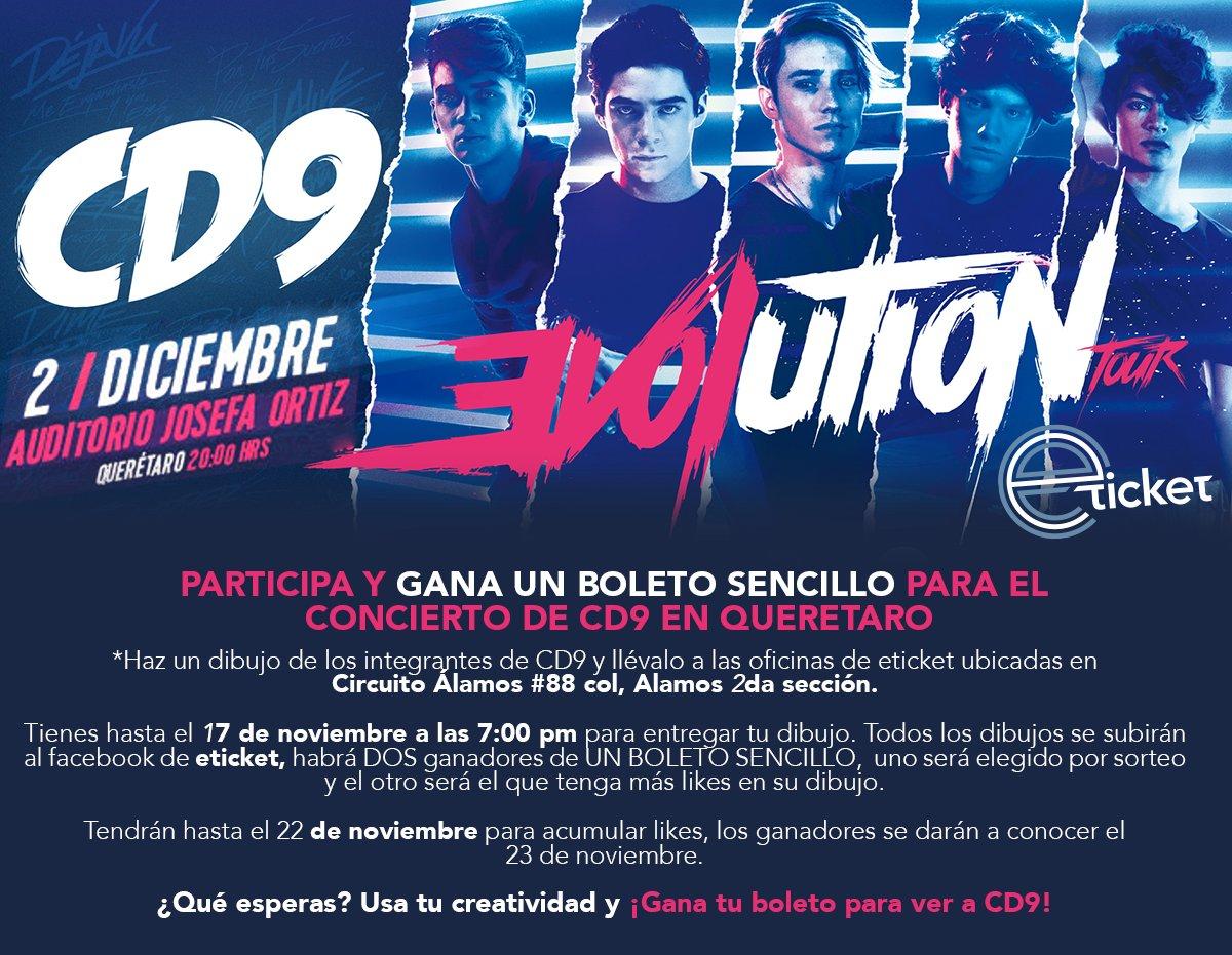 Gana tu boleto y asiste al espectacular show que @CD9 ofrecerá en #Querétaro. ¡Sigue estos pasos!. https://t.co/puXEUctMgx