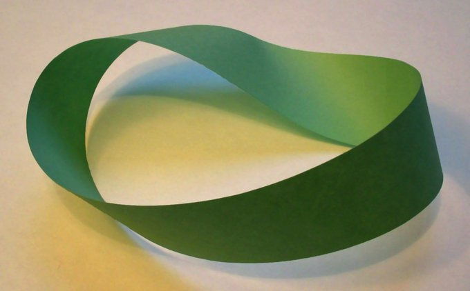 Make a mobius stripmath DIY craft kids