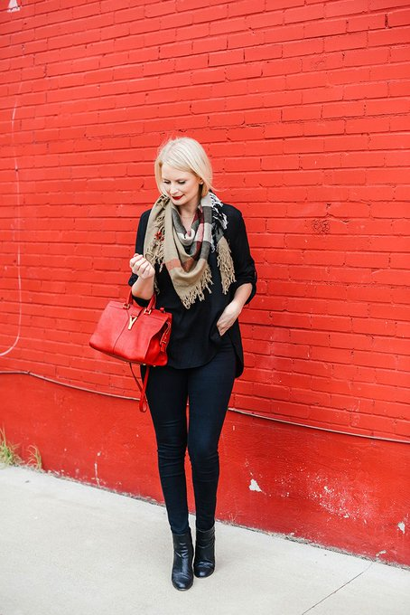 easy holiday style via The Style Scribe merrittbeck ootd